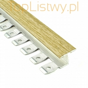 Listwa do gięcia Zic Zac 16x10mm klon 1P dł:2,5m