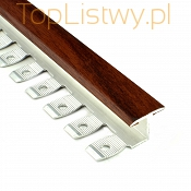 Listwa do gięcia Zic Zac 16x10mm mahoń 7E dł:2,5m