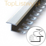Listwa do gięcia Zic Zac 16x10mm klon 16 dł:2,5m