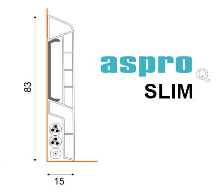 Listwa ASPRO Q wersji SLIM
